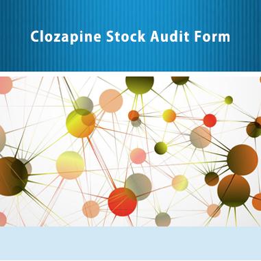 Clozapine Registry Form